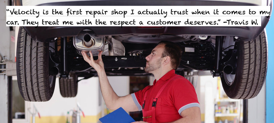 muffler repair exhaust inspection