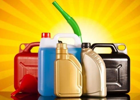 flushed fluids like oil brakes and antifreeze